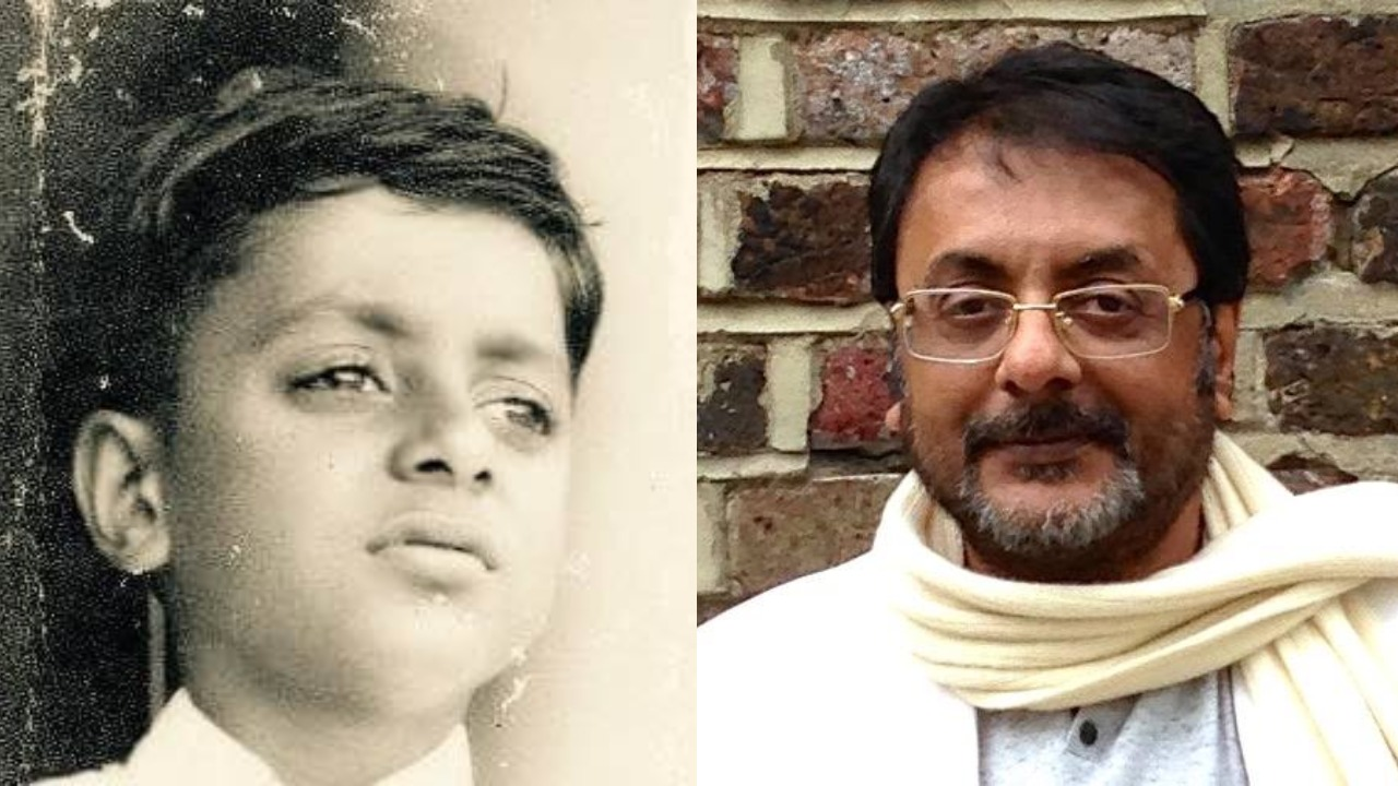Unseen childhood still of actor Pratap Pothen