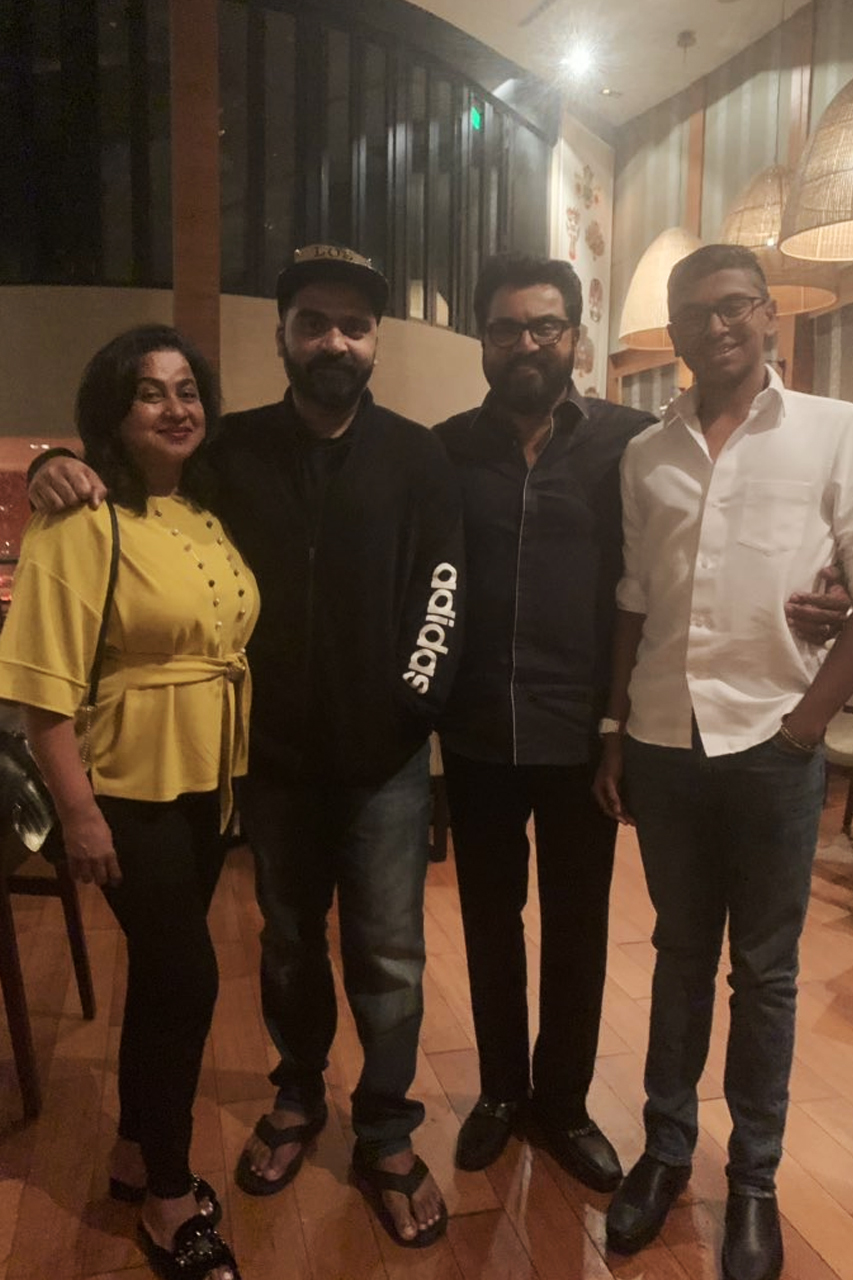 STR with Sarathkumar family