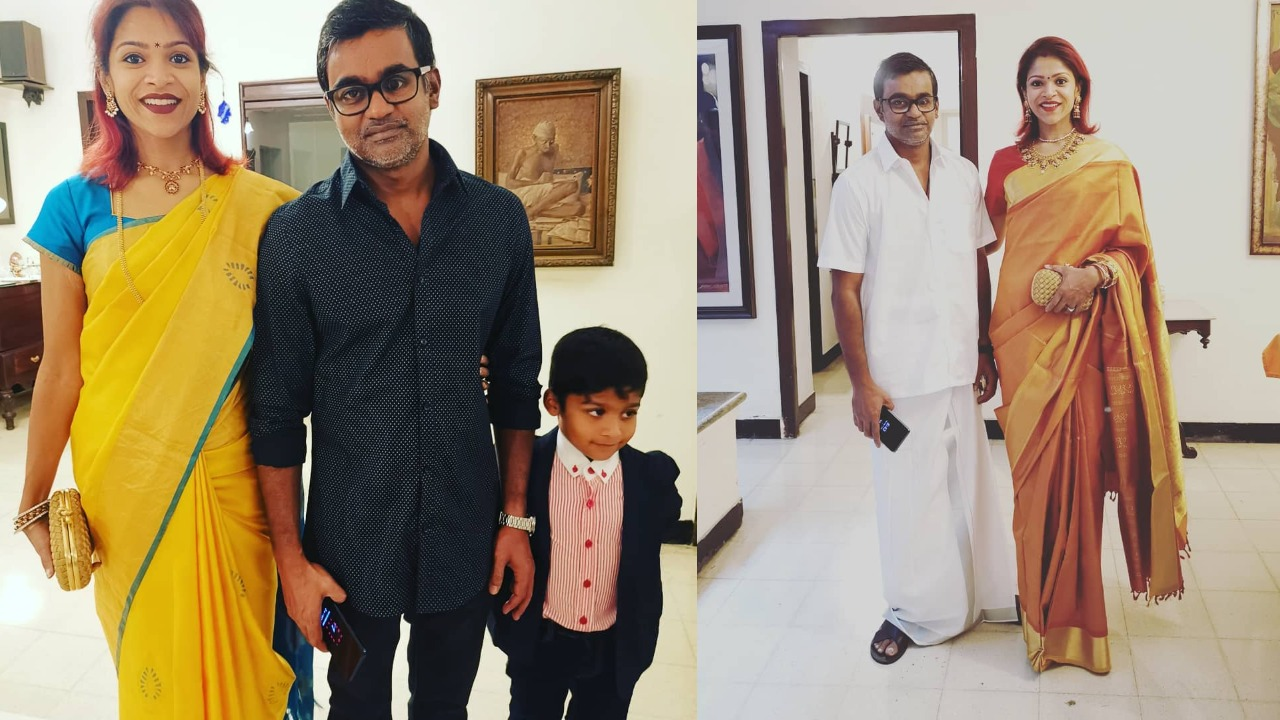 Director Selvaraghavan with his family