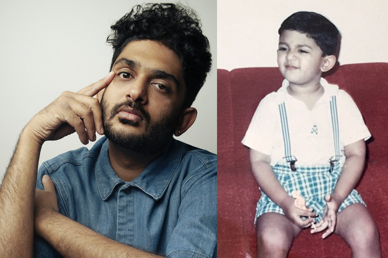 Sid Sriram Childhood photo