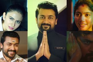 Suriya, Sai Pallavi and Rakul Preet from NGK teaser