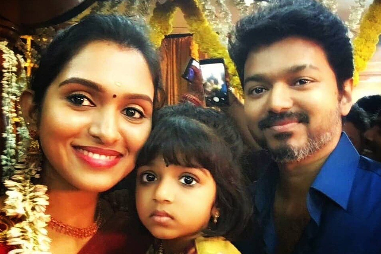 Thalapathy Vijay Latest Selfie
