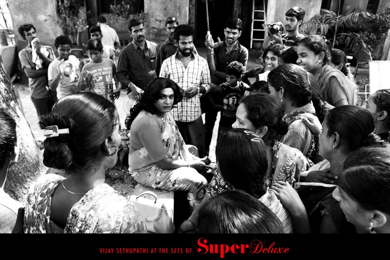 Vijay Sethupathi in super Deluxe