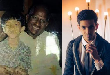 Anirudh's childhood still with Ilaiyaraja