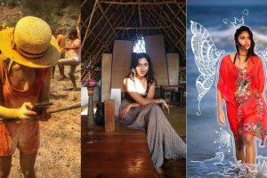 Amala Paul celebrates an organic Holi