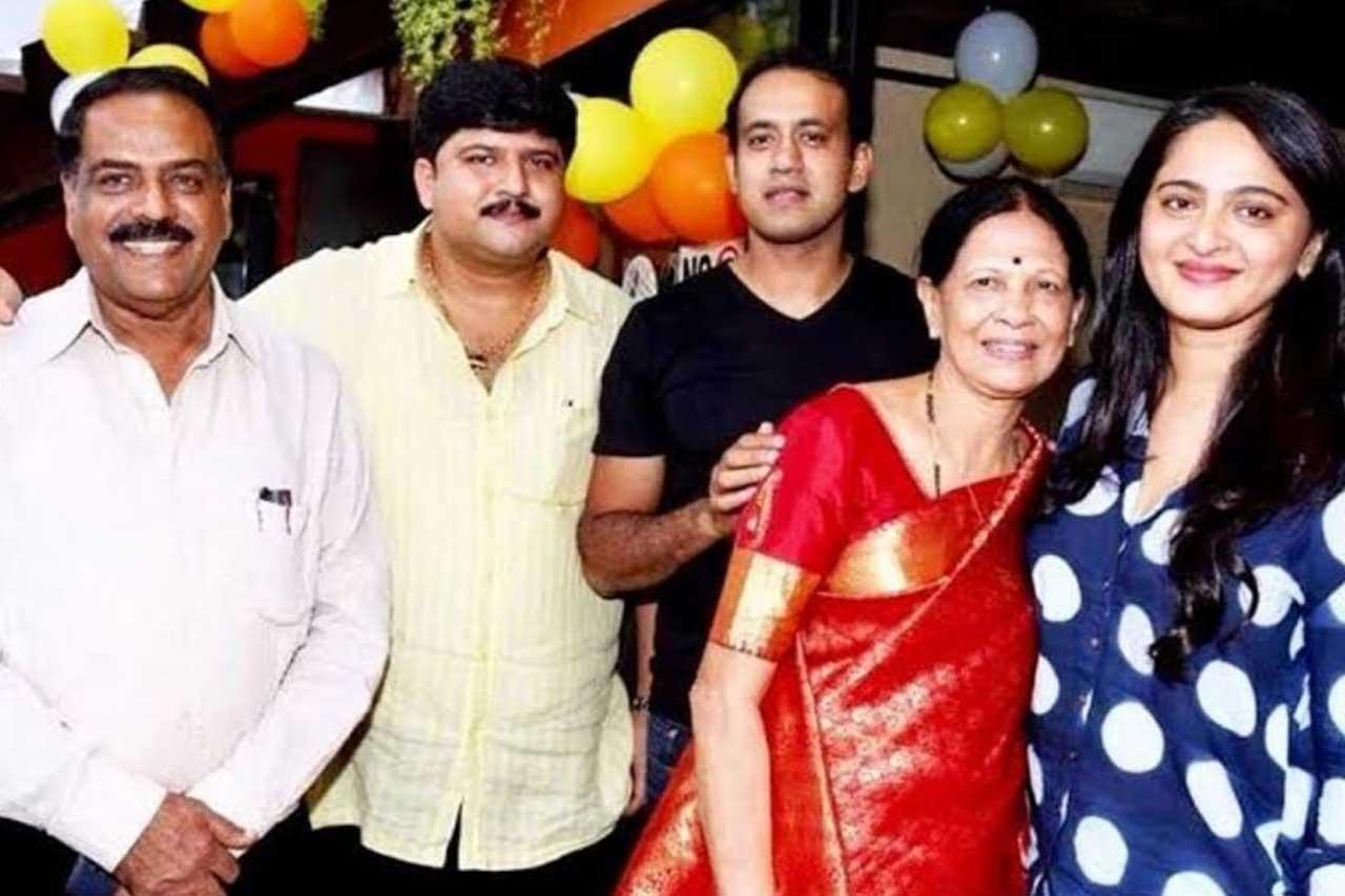 Anushka Shetty Family