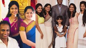 Actor Arun Pandian and family!