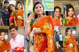 Athulya's new year celebration with her family