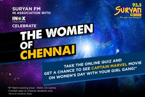 Women's Day Quiz- for women residing in Chennai only