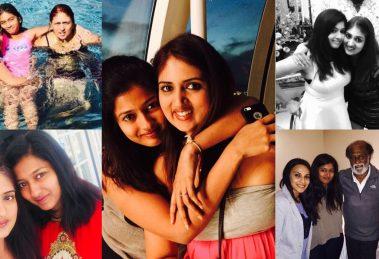 Gayathri Raghuram with sister Suja Raghuram