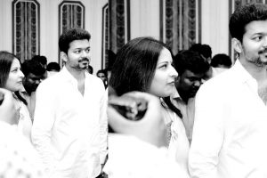Latest stills of Thalapathy Vijay
