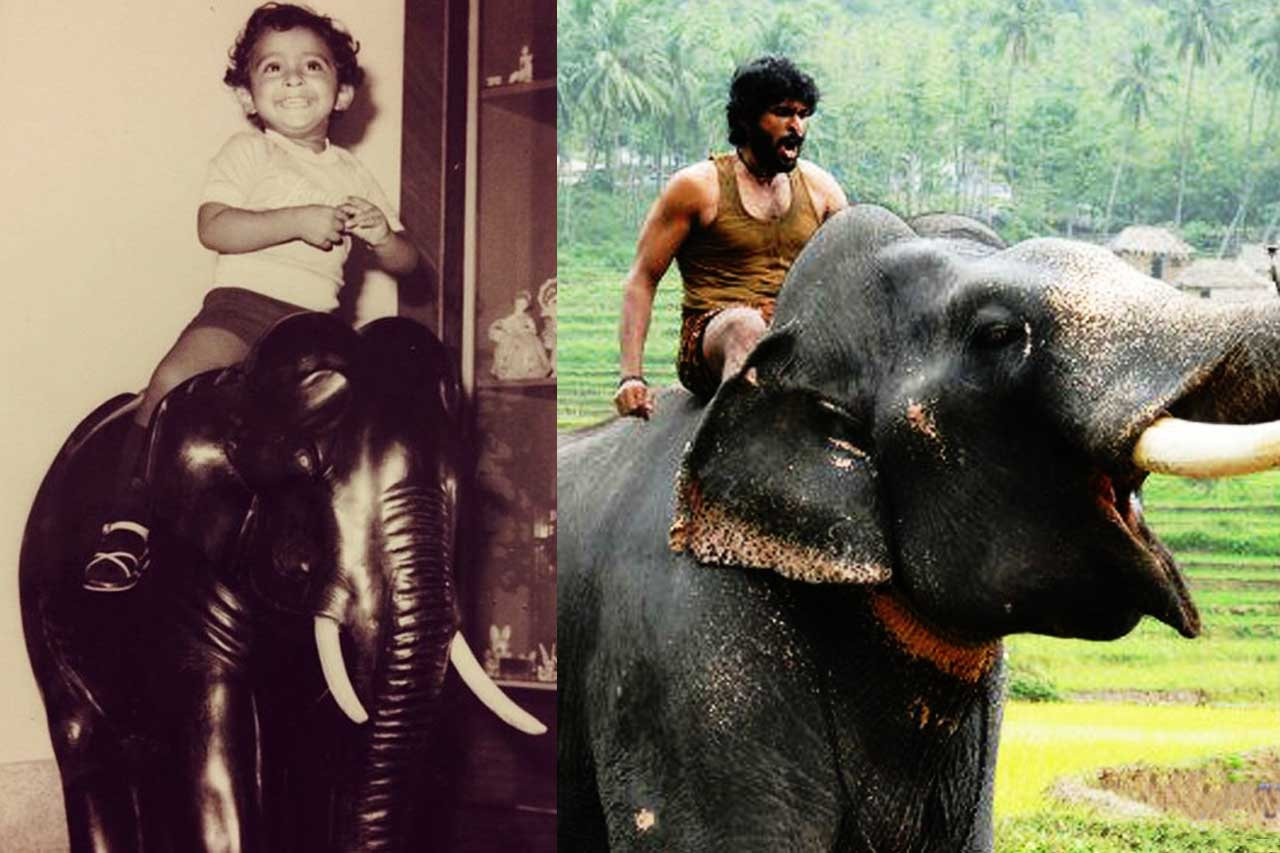 Vikram Prabhu Childhood pic