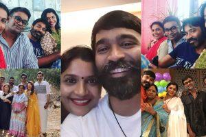 Dhanush unseen with siblings