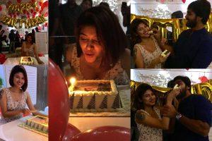 Oviya arav celebrates birthday