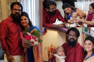 Rambha family stills