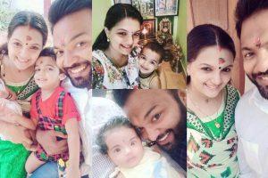 Saranya Mohan celebrates VIshu with her family