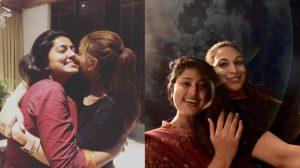 Sneha with Aishwarya Dhanush
