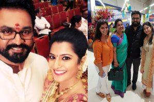 Varalaxmi Sarathkumar with her family