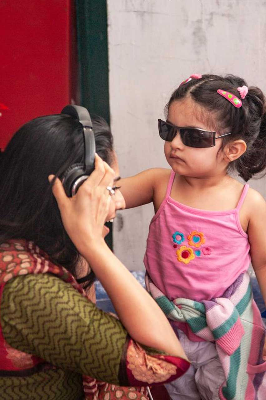 Shalini Ajith Family