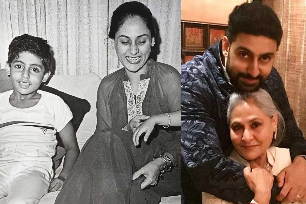 Abhishek Bachchan childhood photos