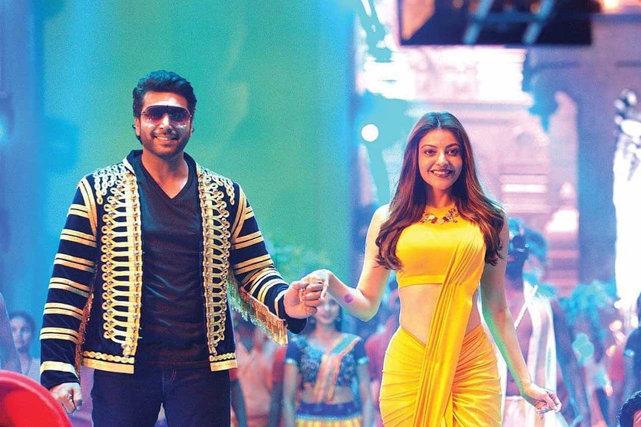 Jayam Ravi as School Boy Interesting New Poster From Comali Released Also Starring Kajal Aggarwal