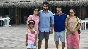 Karthi family photo