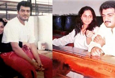 Thala Ajith Shalini family pics
