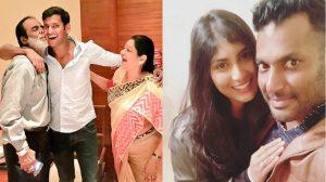 Actor Vishal family pics