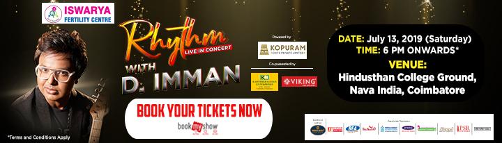 Imman concert in Coimbatore