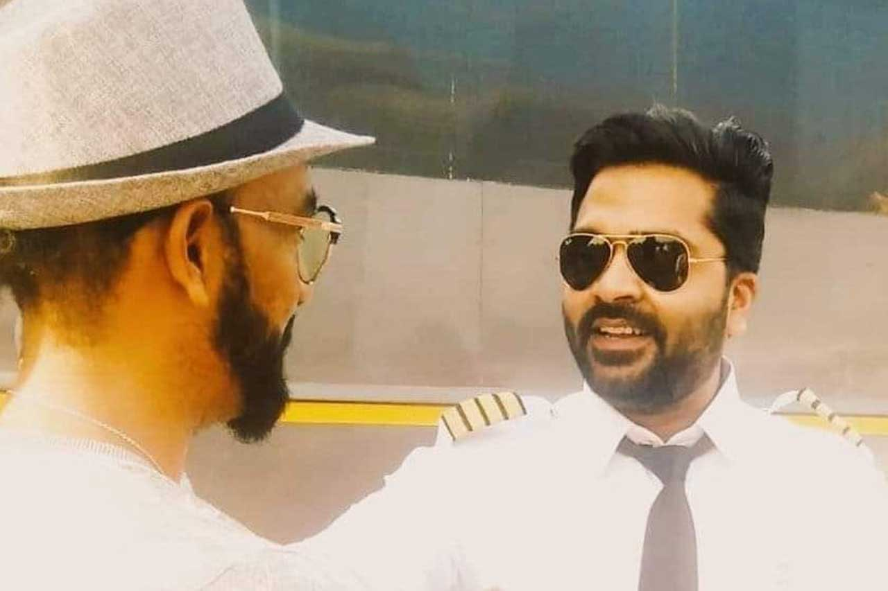 Simbu Pilot look in maha