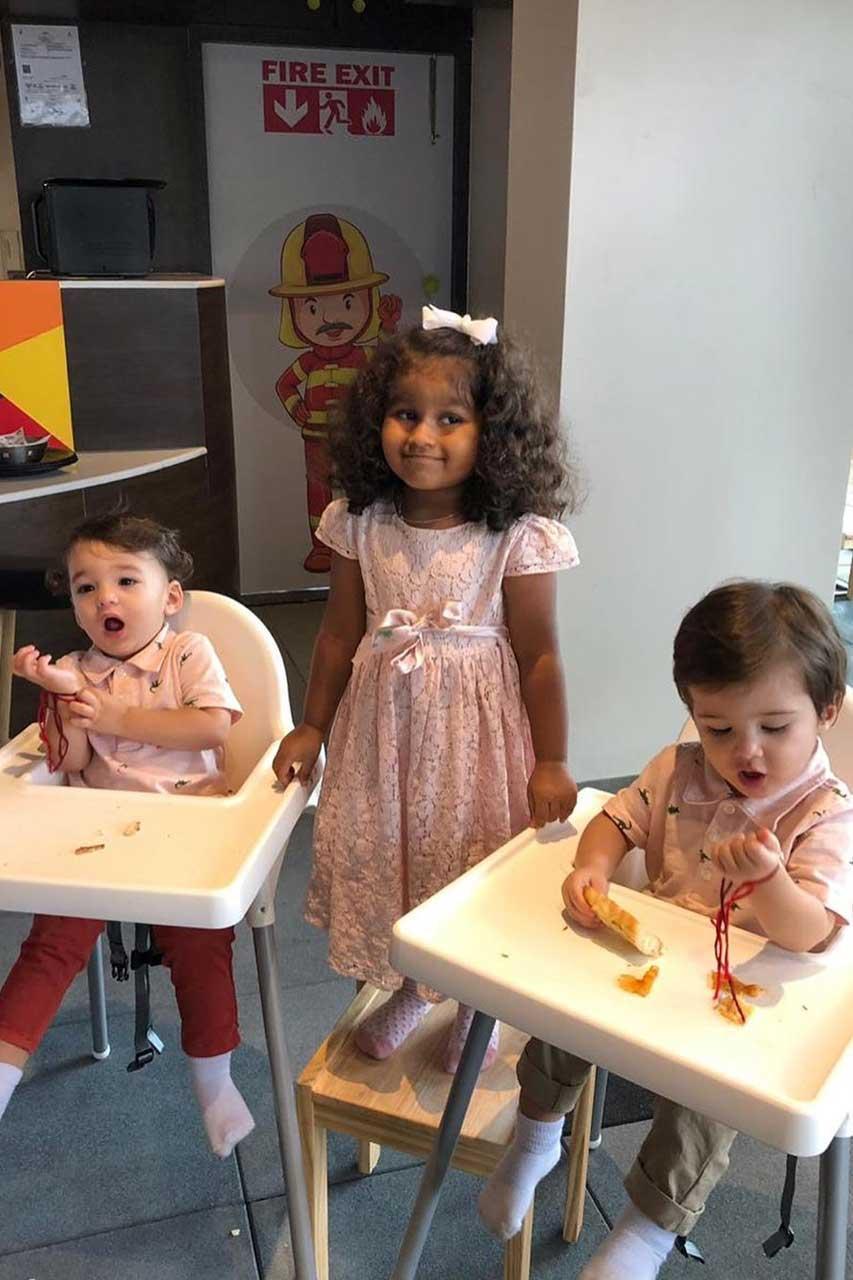 Sunny Leone Kids