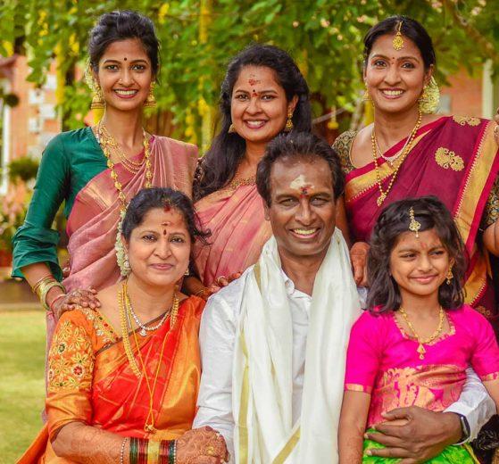 Arun Pandian Family