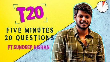 Sundeep Kishan interview