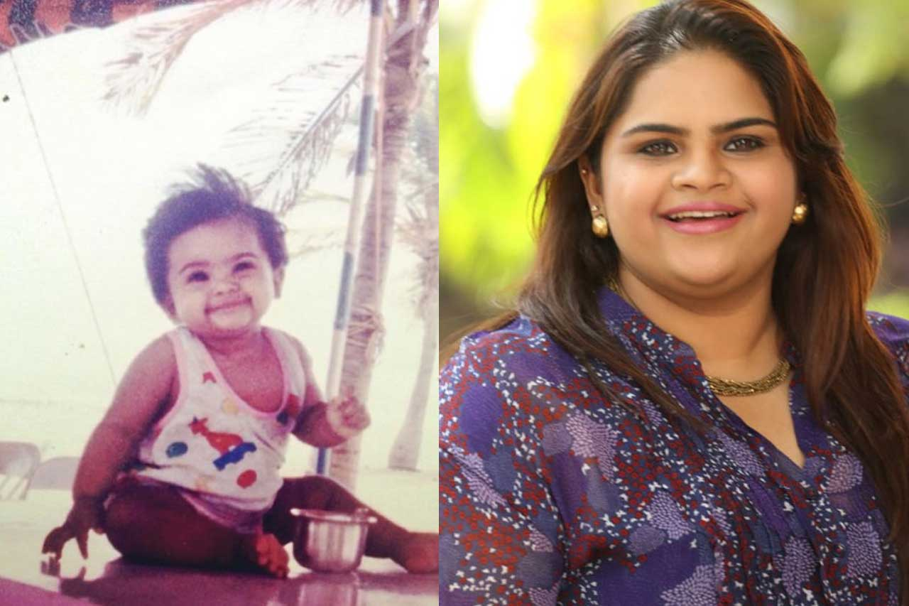 Vidyu raman Childhood photos