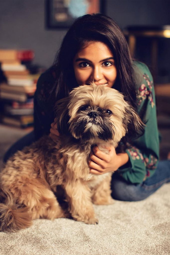 kalyani priyadarshan PET