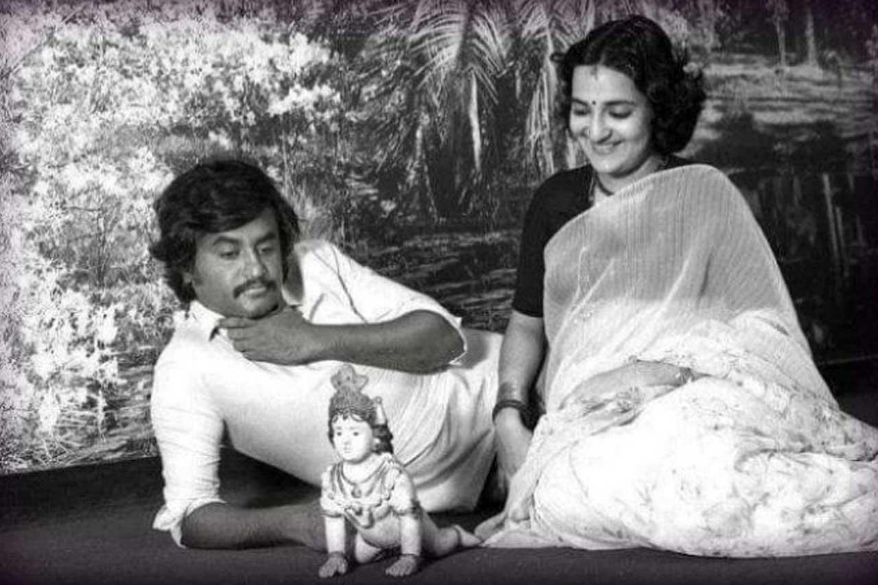 Rajinikanth Throwback photo