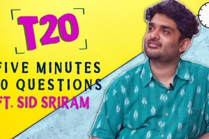 Sid Sriram Interview