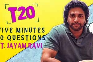 Jayam Ravi interview