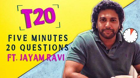 Jayam Ravi interview