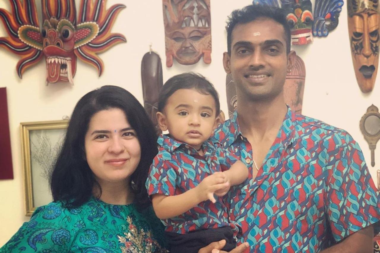 Rayane Mithun - Vinayagar Chathurthi celebration