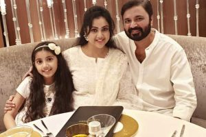 Meena with Family