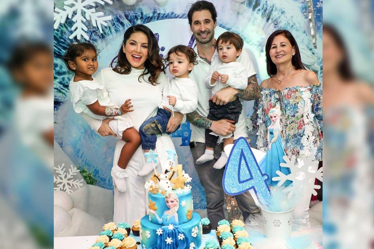 Sunny Leone Family