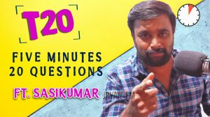 Sasikumar interview
