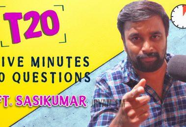Sasikumar interview