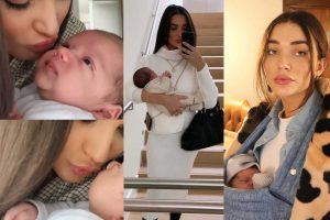 Amy Jackson sings for baby boy