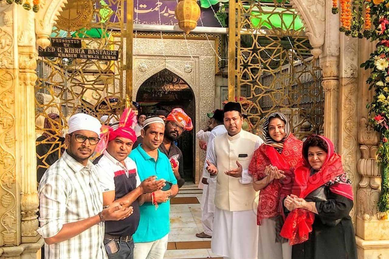 Kajal Aggarwal Temple Visit
