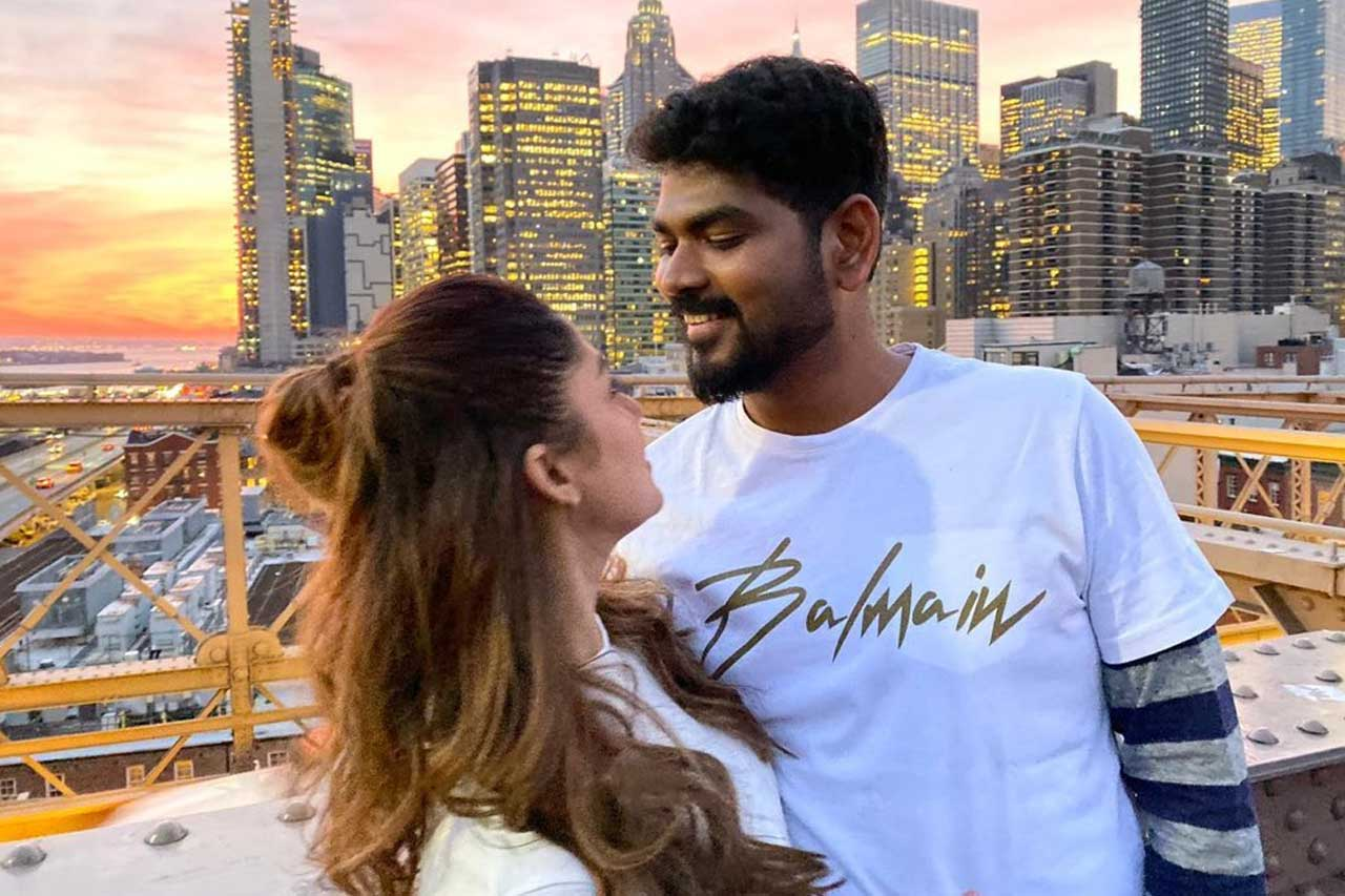 Nayanthara and Vignesh Shivn