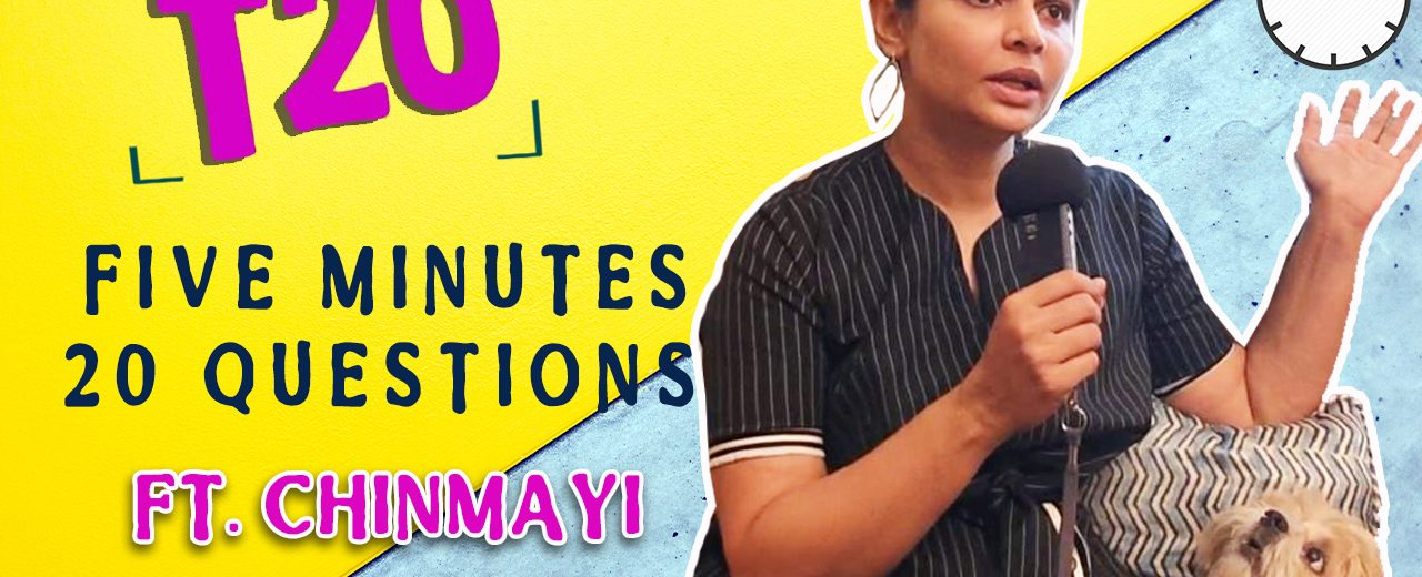 Chinmayi Interview