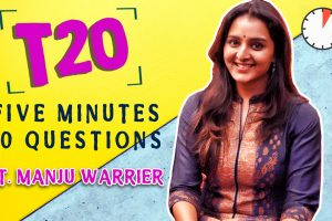 Manju Warrier Interview