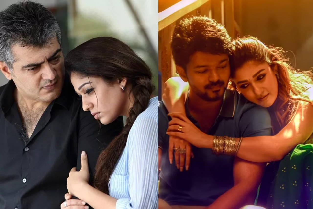 Lady Superstar Nayanthara from Aarambam and Bigil